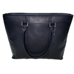 Coach F54758 Perry Business Black Tote MSRP $550